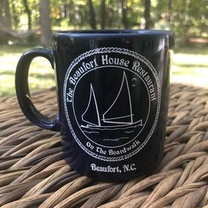 The Beaufort House North Carolina coffee mug